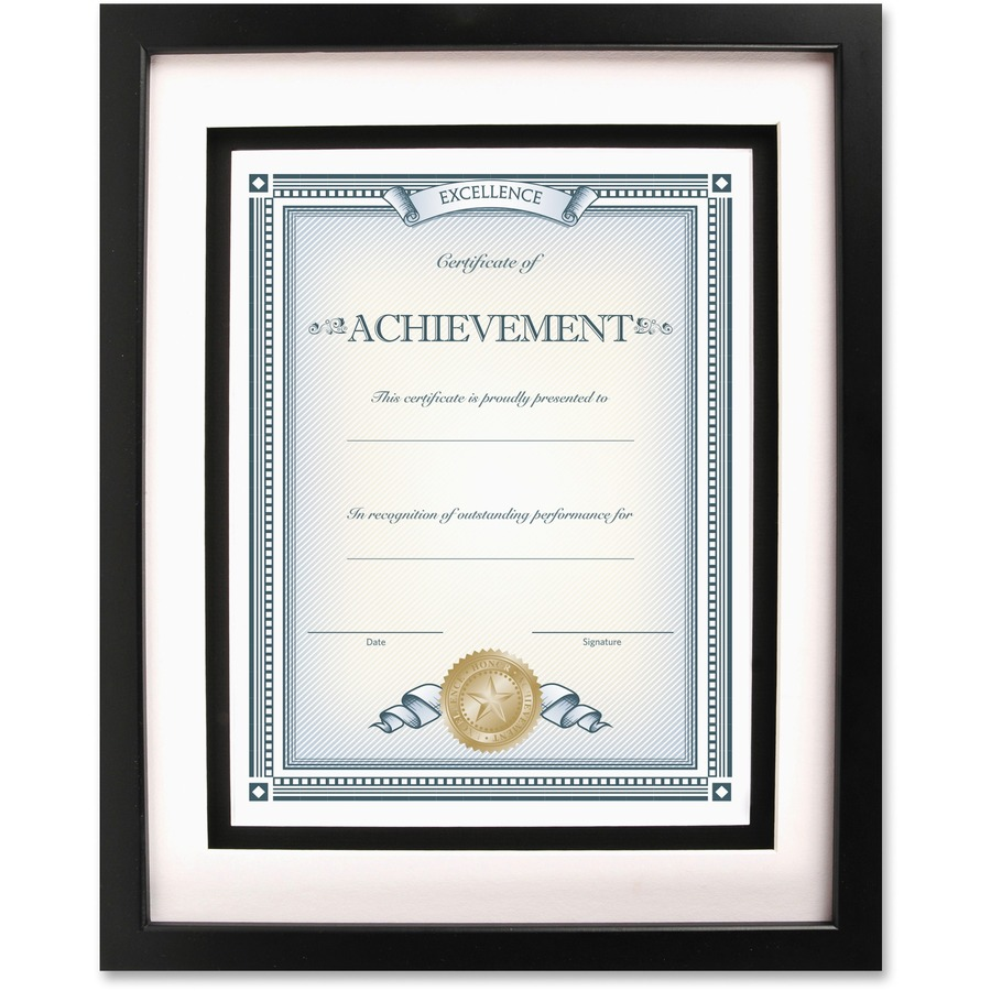 Dax Burns Group Airfloat Certificate Frame Icc Business Products