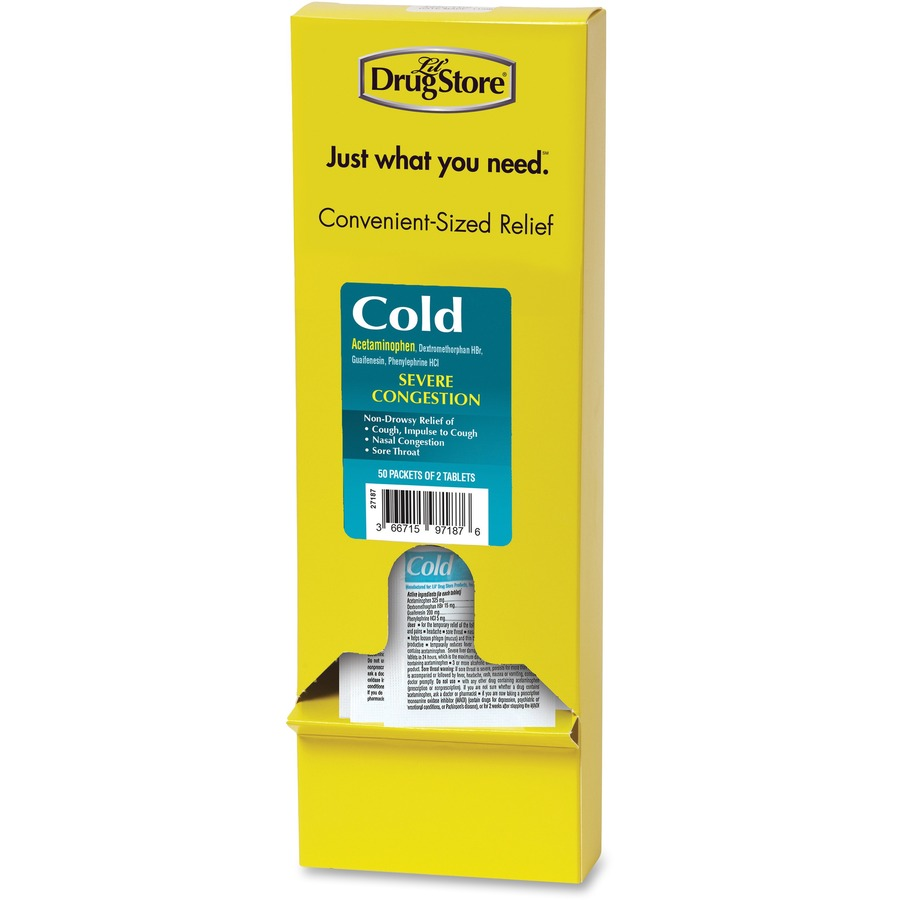Bulk Lil' Drug Store Refill Severe Cold Medicine LIL97187