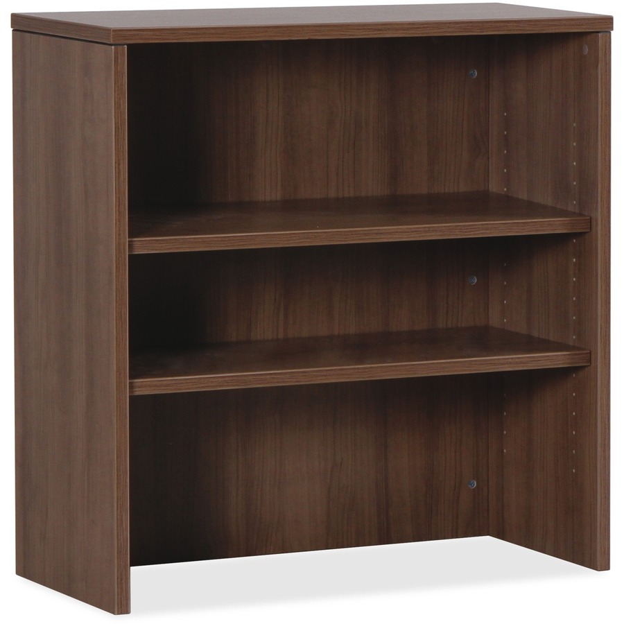 Lorell Essentials Walnut Laminate Stack On Bookshelf 355 X 148 36