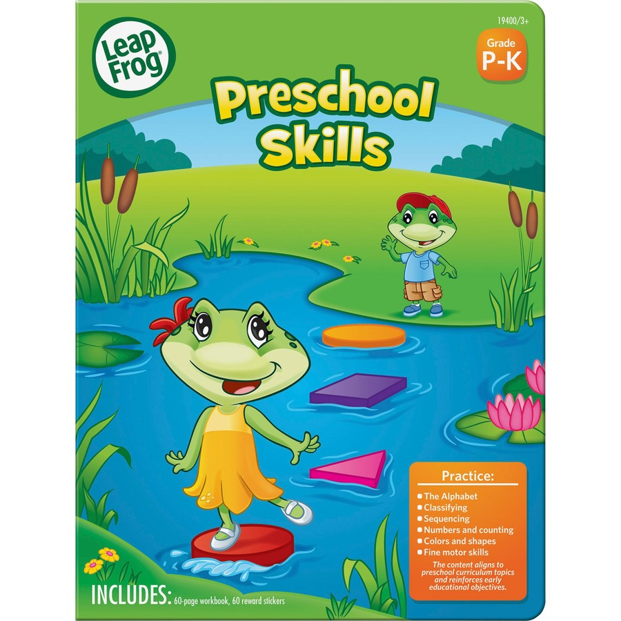 The Board Dudes Preschool Skill Activity Workbook Activity Printed ...