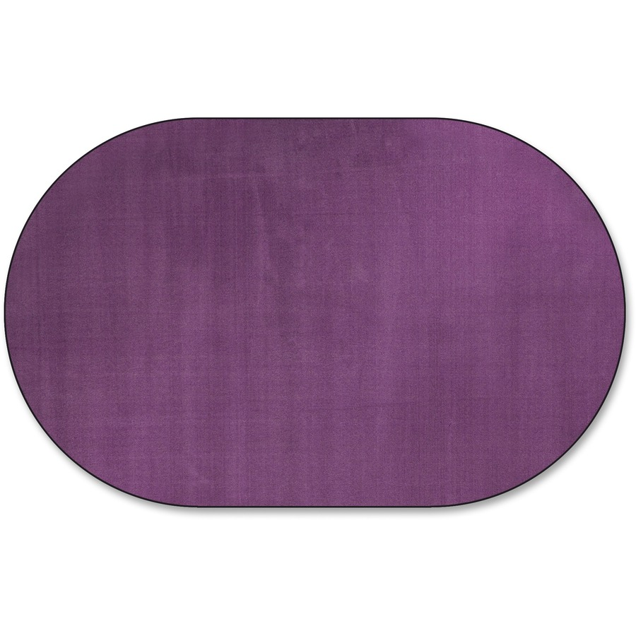 Flagship Carpets Classic Solid Color 9' Oval Rug