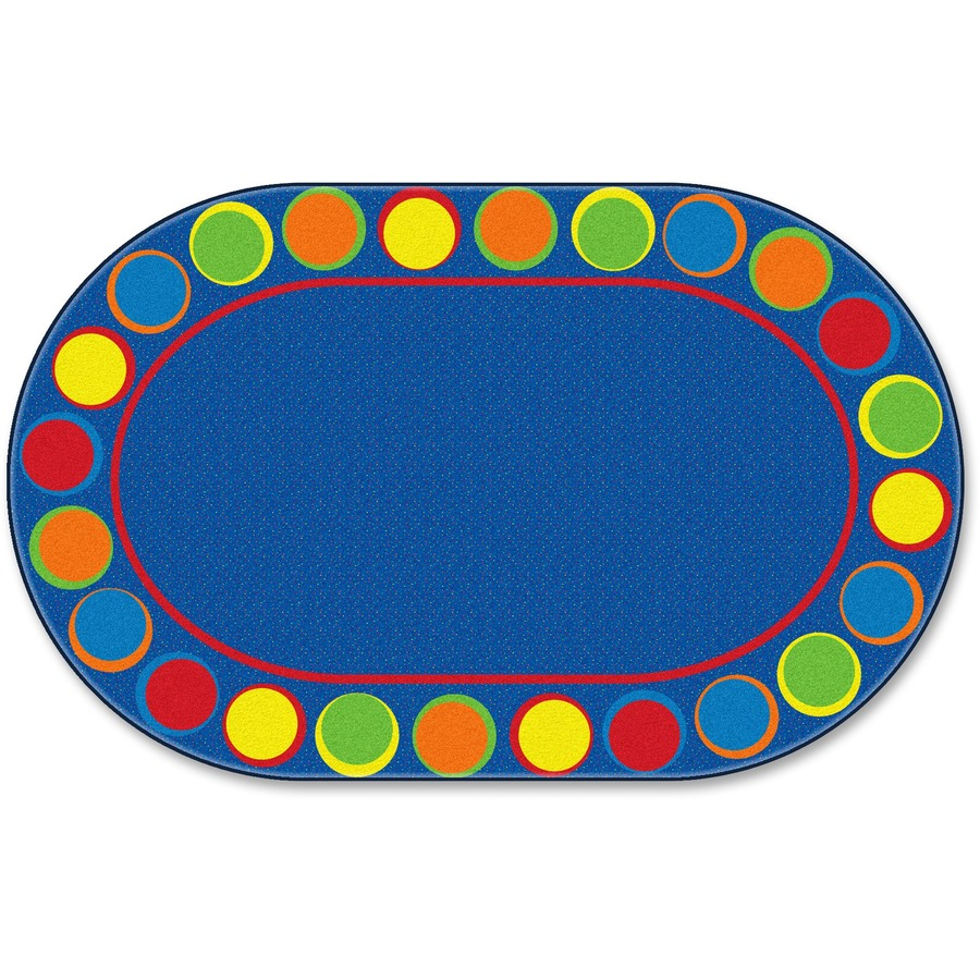 Flagship Carpets Cheerful Sitting Spots Oval Rug : 1032791981 from www.bulkofficesupply.com size 900 x 900 jpeg 213kB