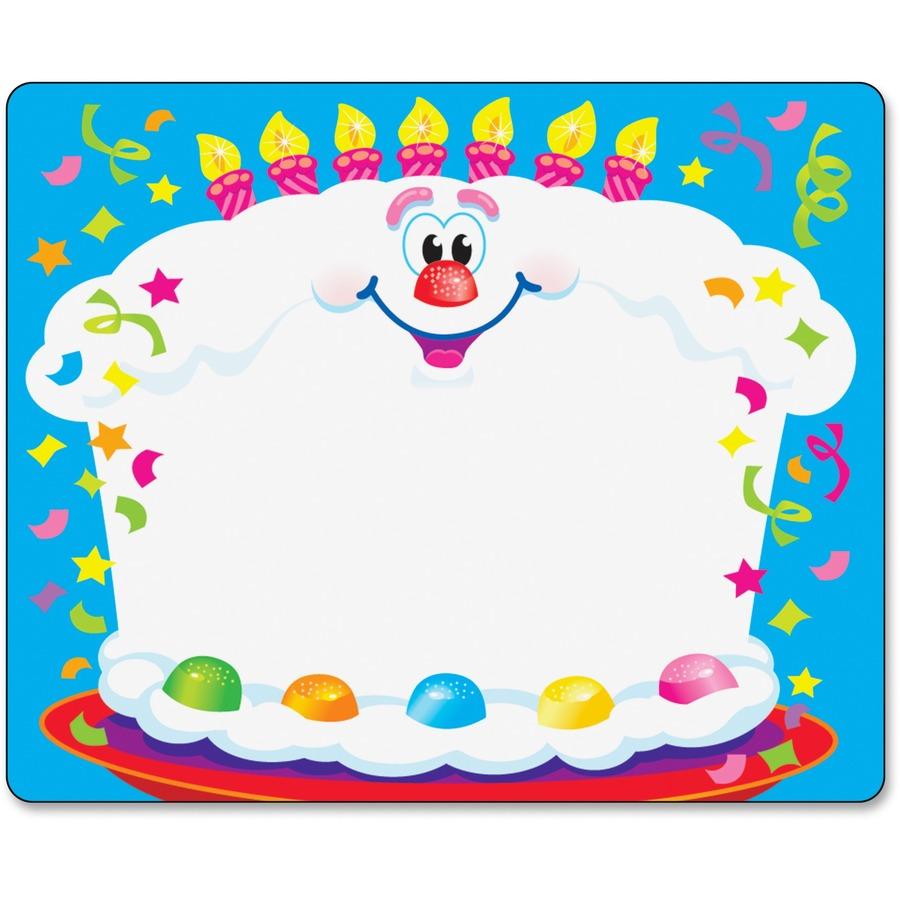 Giant Birthday Card Big Cake #2-2/' x 3/' w//envelope FREE SHIPPING