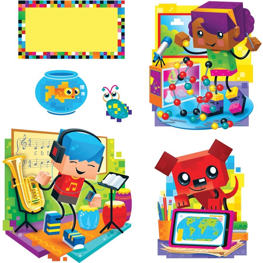 Trend BlockStars Bulletin Board Set