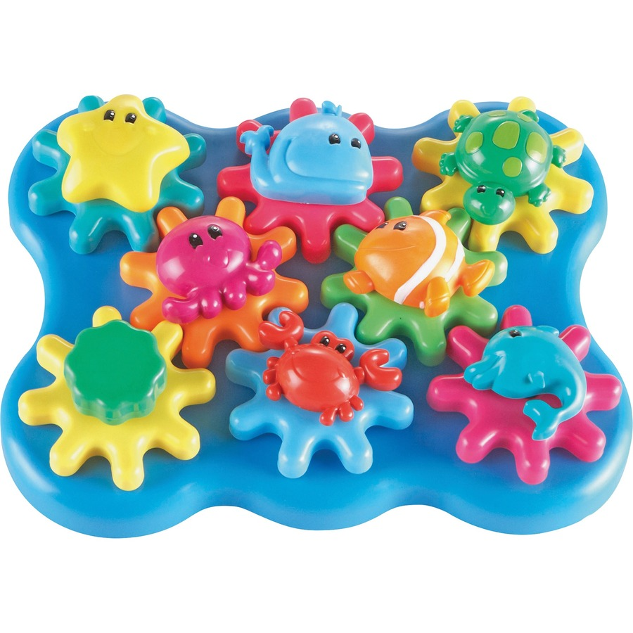 Learning Resources Jr Gears Under Sea Building Set Theme
