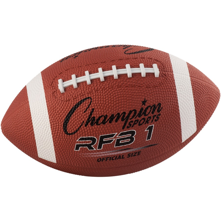Champion Sport s Official Size Rubber Football - ICC Business ... 6d083069326