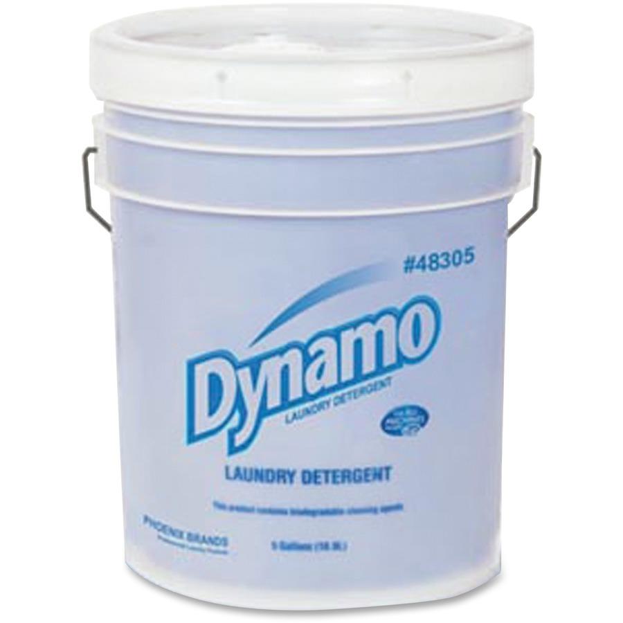 AJAX Dynamo Liquid Laundry Detergent - 5 gal (640 fl oz