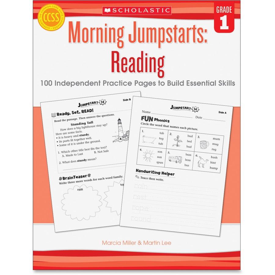 Scholastic Res  Grade 1 Morning Jumpstart Read Workbook