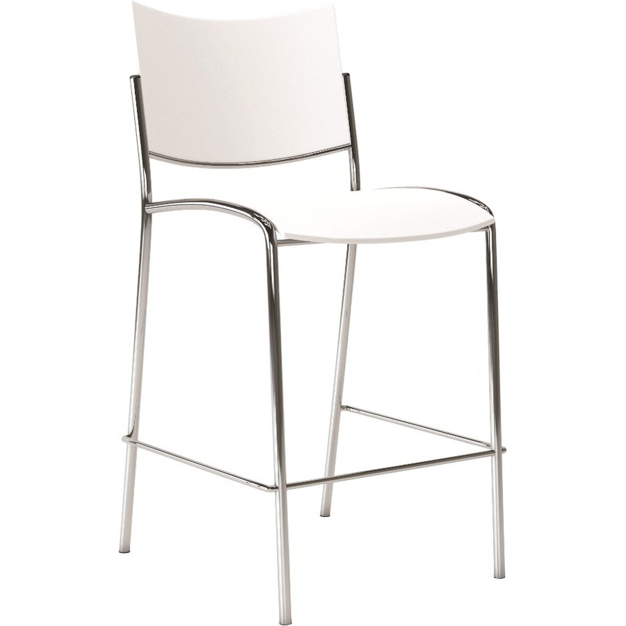 Wholesale Mayline Escalate Stackable Stool Mlness25bblk