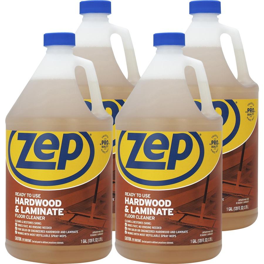 Zep Commercial Hardwood Laminate Floor Cleaner Liquid