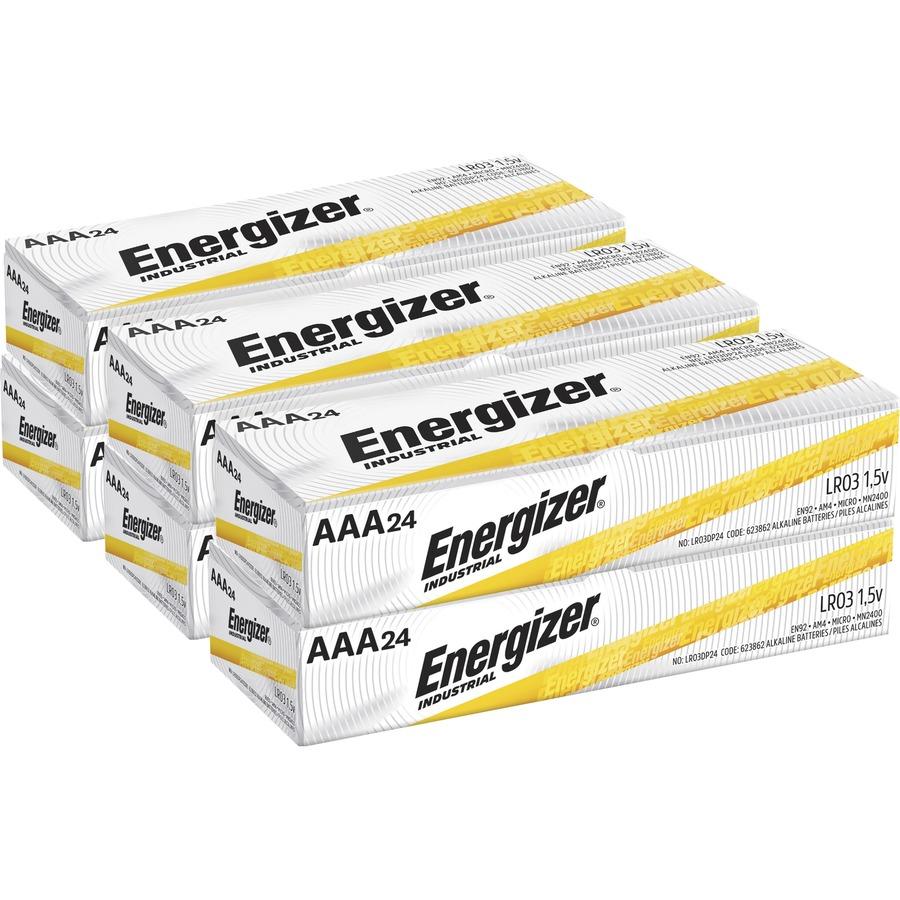 72 Pack Energizer Industrial 9V Size