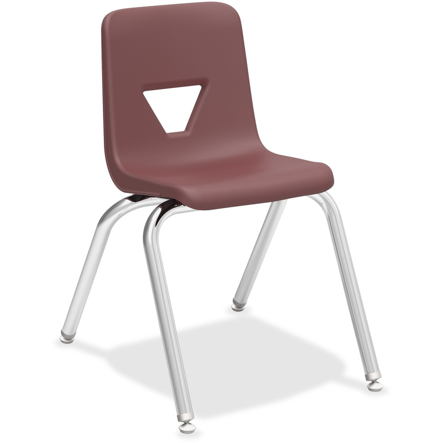 Lorell 16 Quot Seat Height Stacking Student Chair Llr 99889