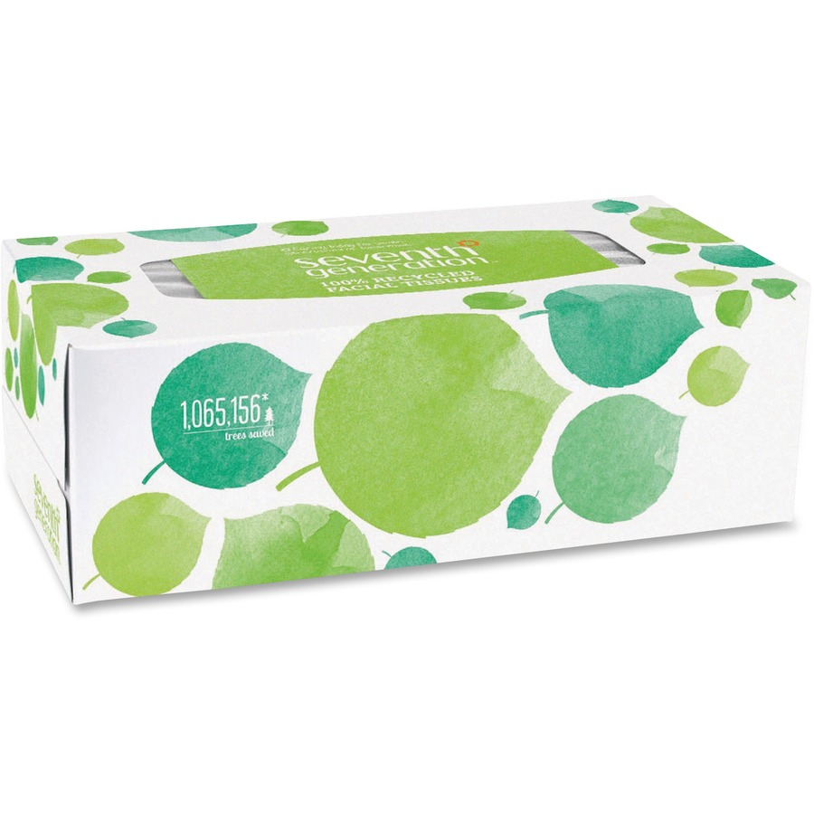 Seventh Generation 100% Recycled Facial Tissues SEV13712CT