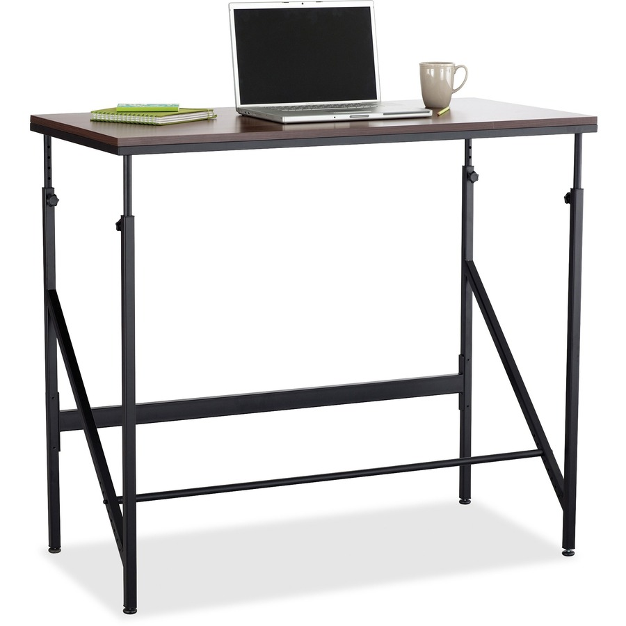 Safco Laminate Tabletop Standing-Height Desk - Rectangle Top - 48