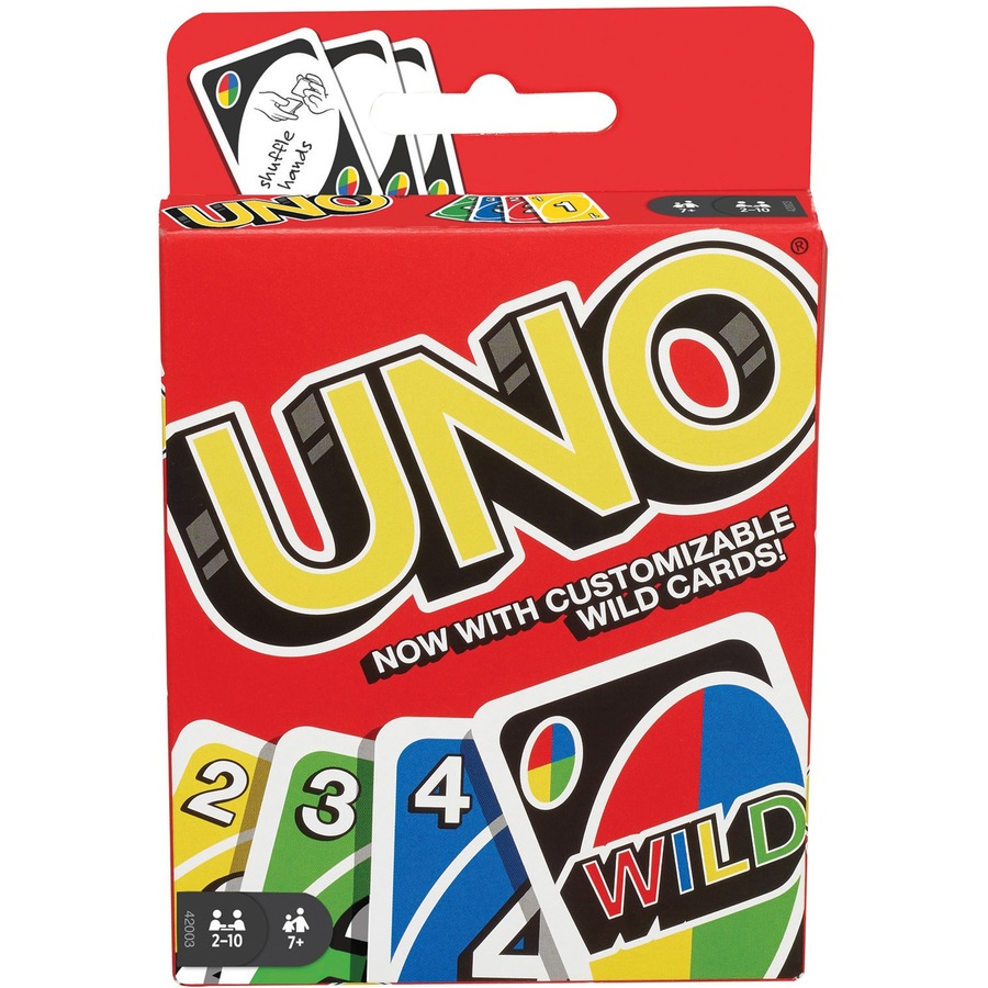 Mattel Uno Card Game Classic Card Game Great Group