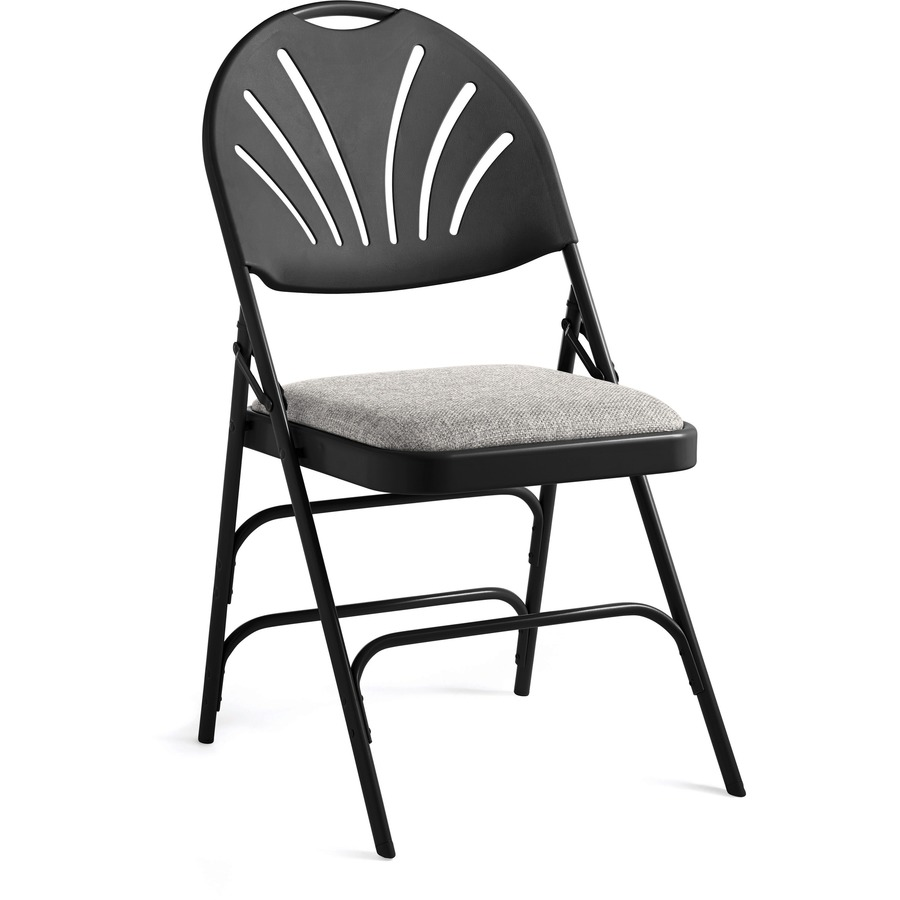 Steel Chairs Product : Bulk samsonite fanback steel fabric folding chair