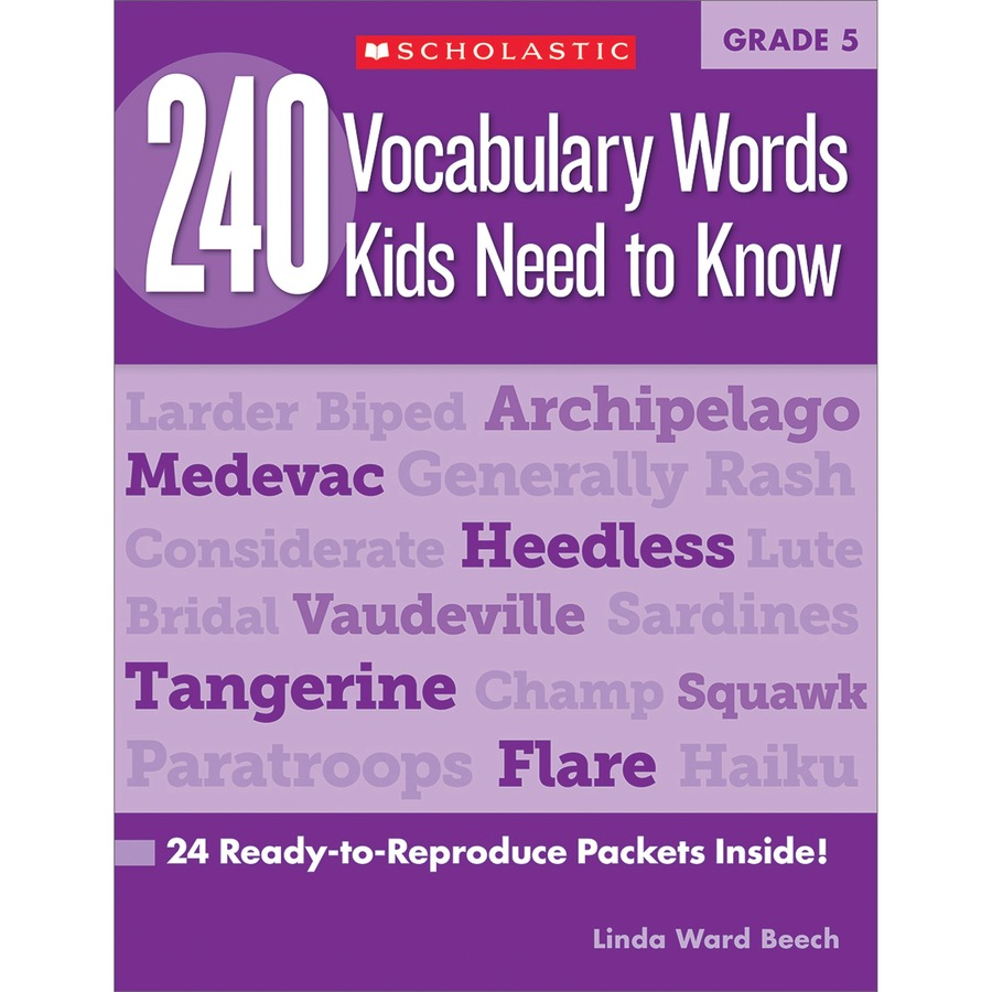 Grade  Words Book Education Printed Book By Linda Ward Beech