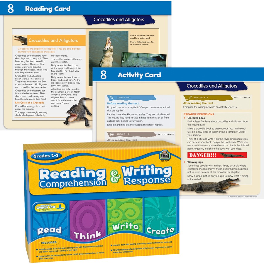 - TCR9014 - Teacher Created Resources Gr 2-3 Reading/Writing Set