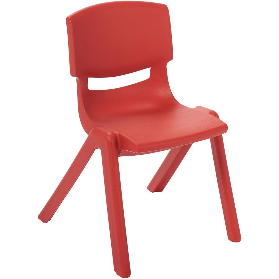ECR4KIDS 16 Resin School Stack Chair