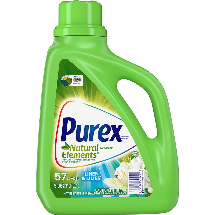 Purex Natural Elements Liquid Detergent - Liquid - 0 59 gal
