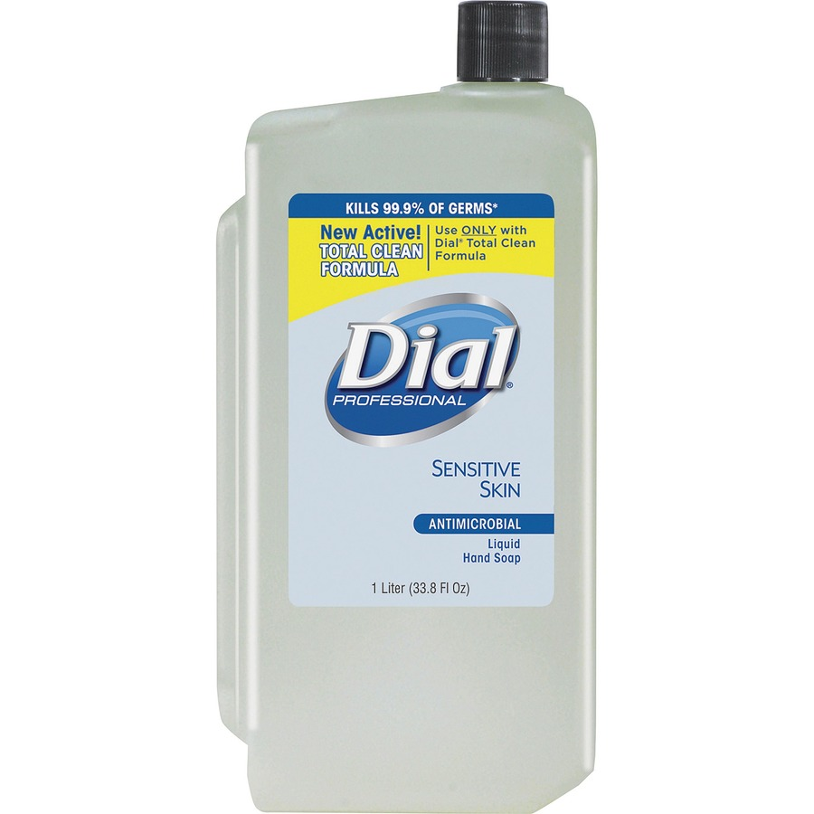Bulk Dial Sensitive Skin Antibactrl Liquid Hand Soap Dia82839