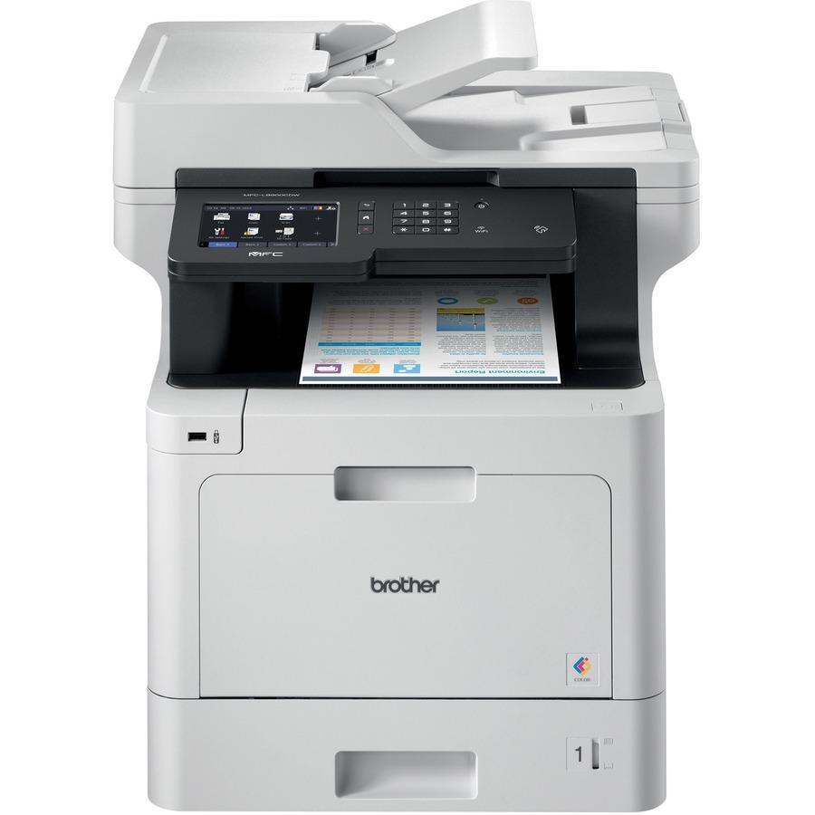 Best Home Office Laser Printer Copier Scanner: Brother Business Color Laser All-in-One MFC-L8900CDW