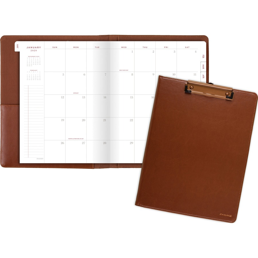 At A Glance Signature Collection ClipFolio with Monthly  : 1039042097 from www.bulkofficesupply.com size 900 x 900 jpeg 89kB