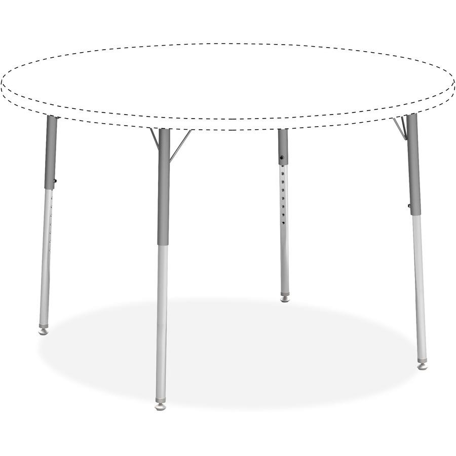 Lorell Classroom Activity Table Standard Height Adjustable