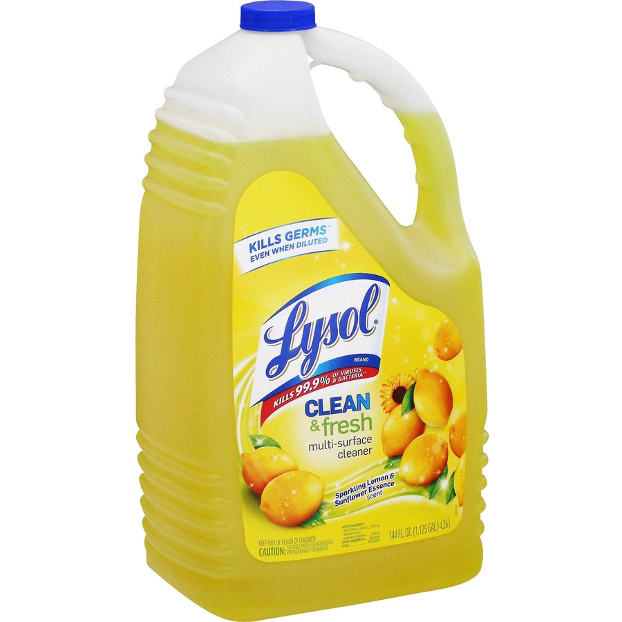 lysol clean fresh lemon cleaner. Black Bedroom Furniture Sets. Home Design Ideas