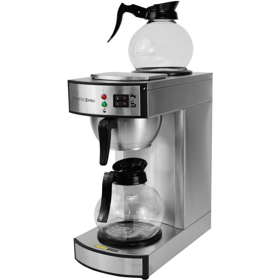 Coffeepro Twin Warmer Insutional Coffee Maker Cfpcprlg2