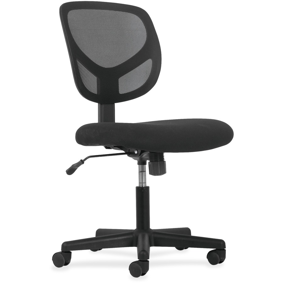 basyx by hon armless mid back task chair icc business products office products copiers. Black Bedroom Furniture Sets. Home Design Ideas