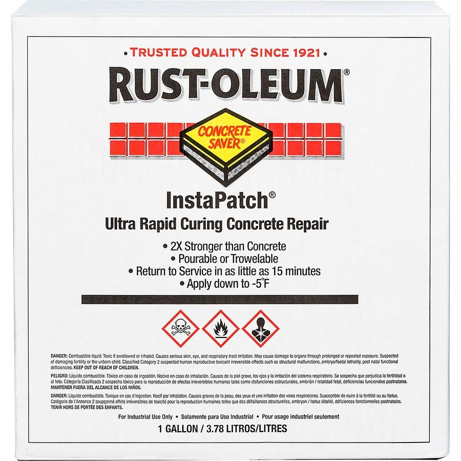 Rust Oleum Instapatch Concrete Repair 1 Kit Gray