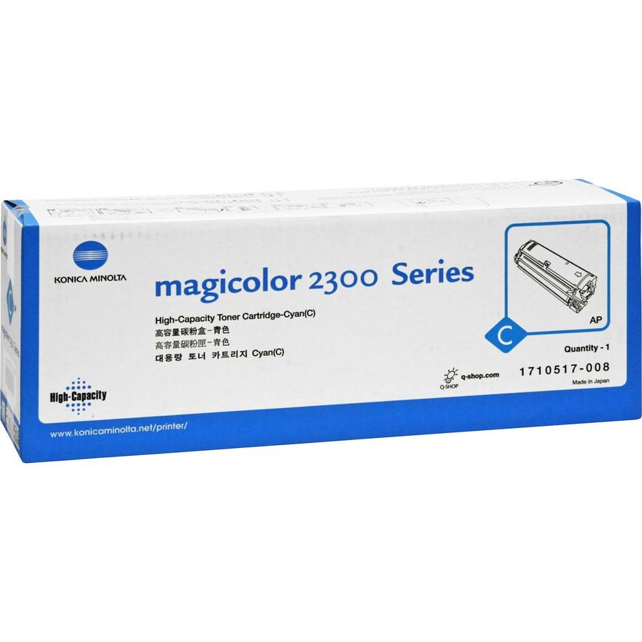 Minolta-QMS Original Toner Cartridge - Laser - 4500 Pages