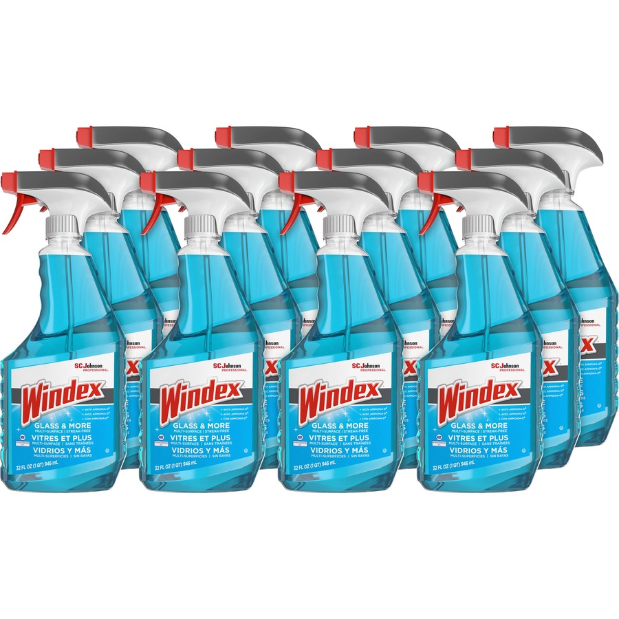02aa112de336 Windex reg  Glass Cleaner with Ammonia-D - Capped with Trigger SJN695237CT