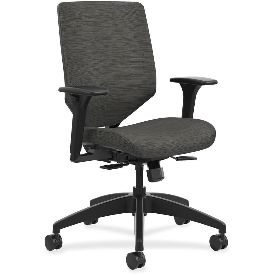 Hon Solve Task Chair Upholstered Back Fabric Seat