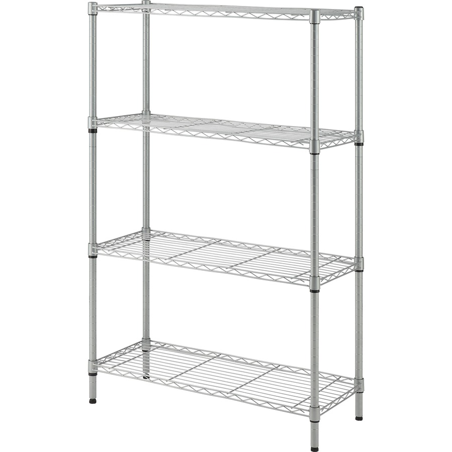 lorell light duty wire shelving. Black Bedroom Furniture Sets. Home Design Ideas
