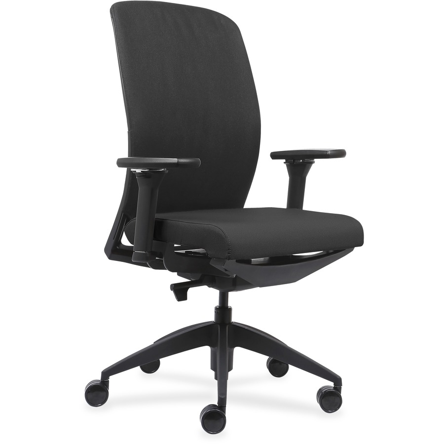 Lorell Executive Chairs With Fabric Seat U0026 Back LLR83105