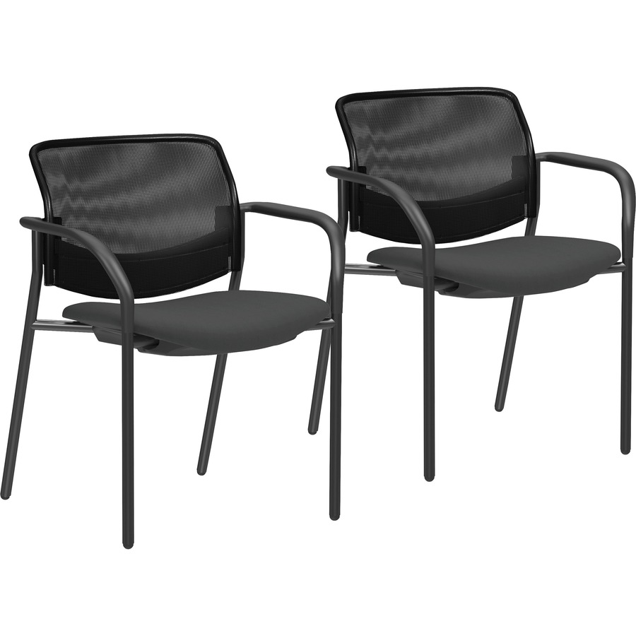 Lorell Guest Chairs With Mesh Back Zerbee