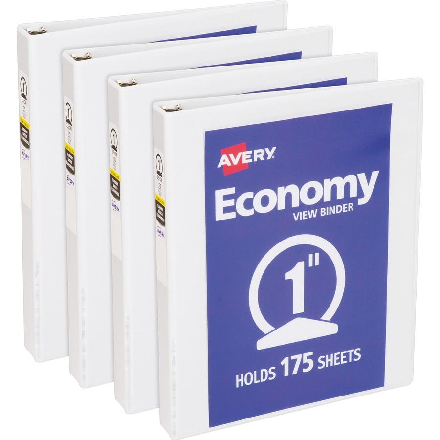 Avery Economy View Binder