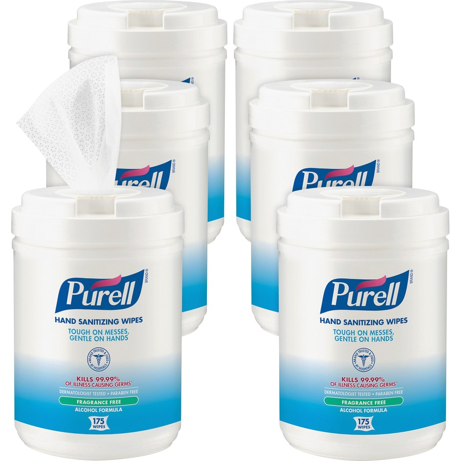 PURELL® Alcohol Hand Sanitizing Wipes - 6