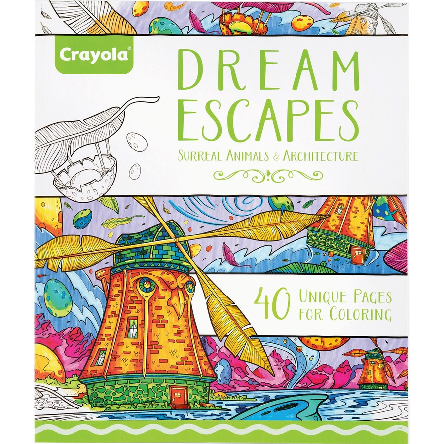 Crayola Dream Escapes Coloring Book - Latsons Office Solutions Inc