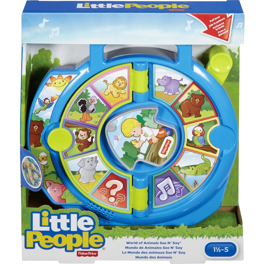 Little People World of Animals See 'n Say Toy - Skill