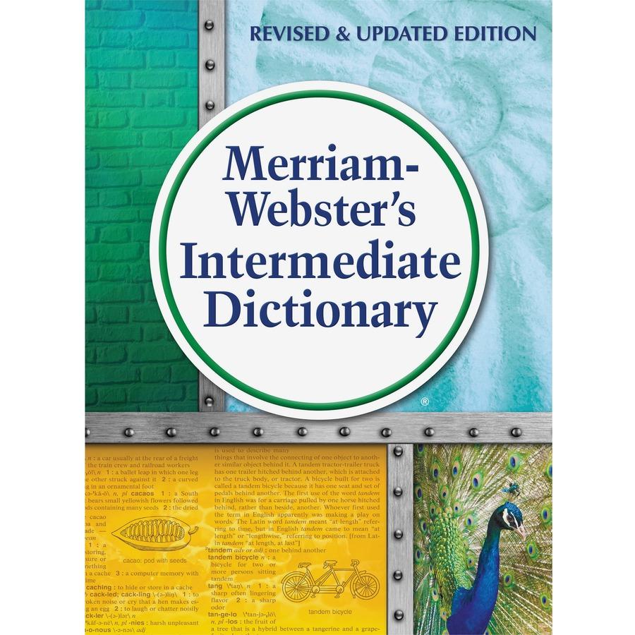 Merriam-Webster Intermediate Dictionary Dictionary Printed