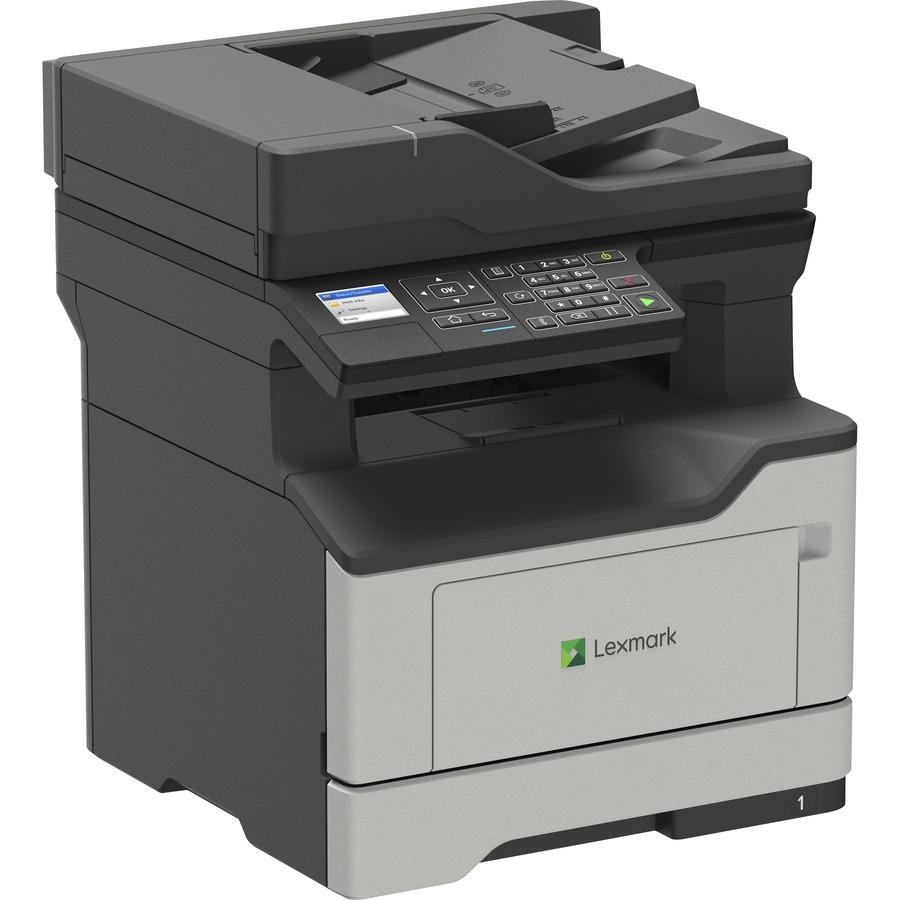 Lexmark MB2338adw Laser Multifunction Printer - Monochrome -  Copier/Fax/Printer/Scanner - 38 ppm Mono Print - 1200 x 1200 dpi Print -  Automatic Duplex