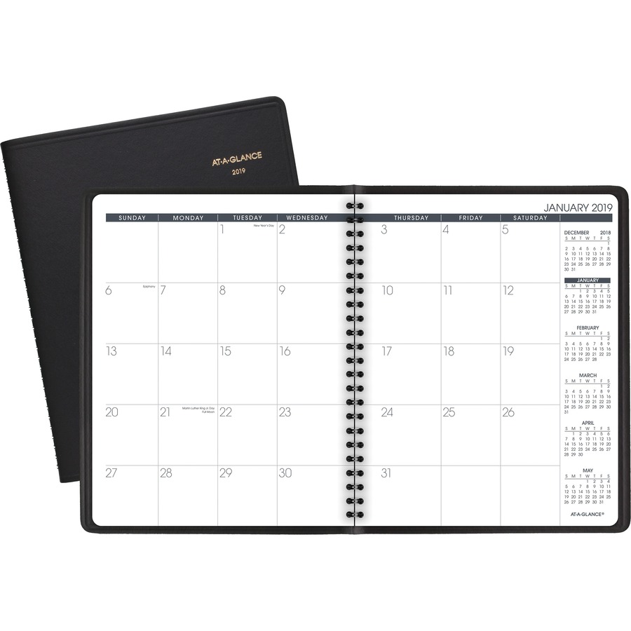 at a glance monthly planner tierney office products