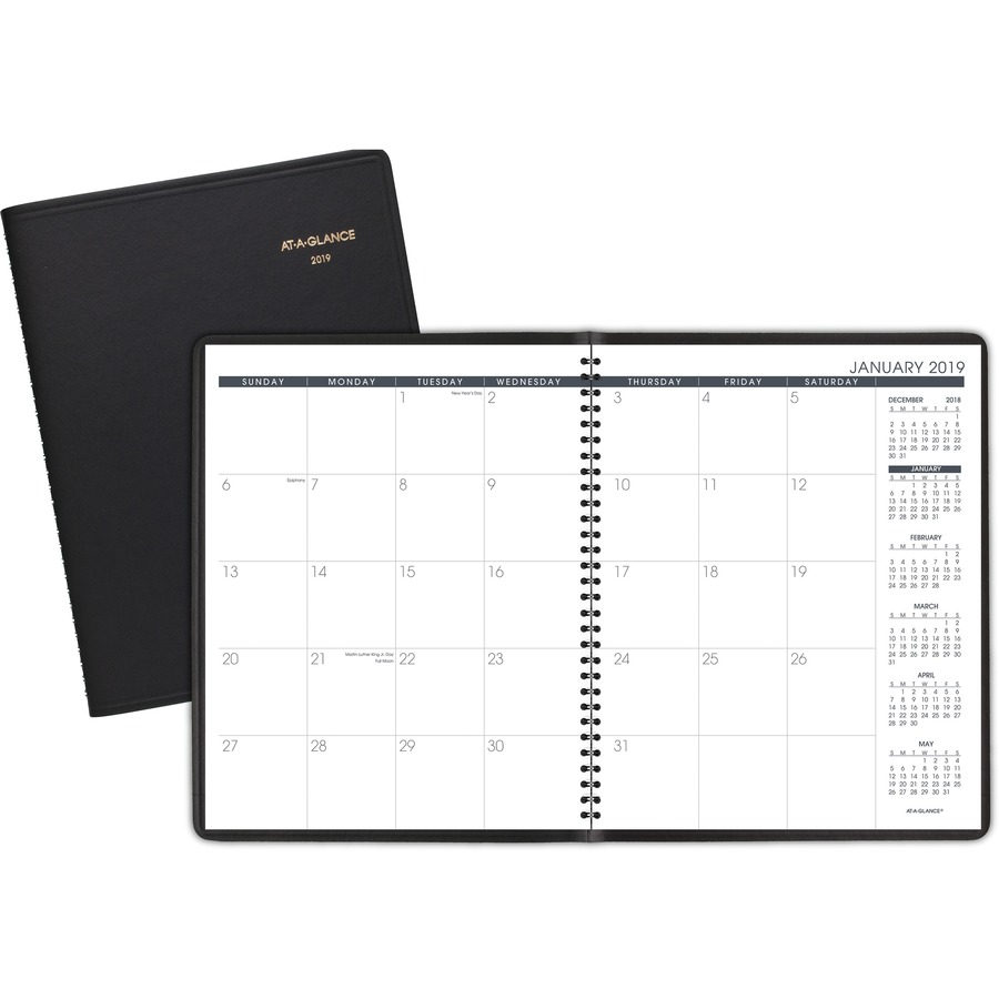 f2be25f2f9b AAG702600519 - At-A-Glance Monthly Planner - Yes - Monthly - 1.2 ...
