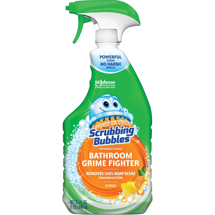 Scrubbing Bubblesu0026reg; Bathroom Grime Fighter   Trigger SJN302286