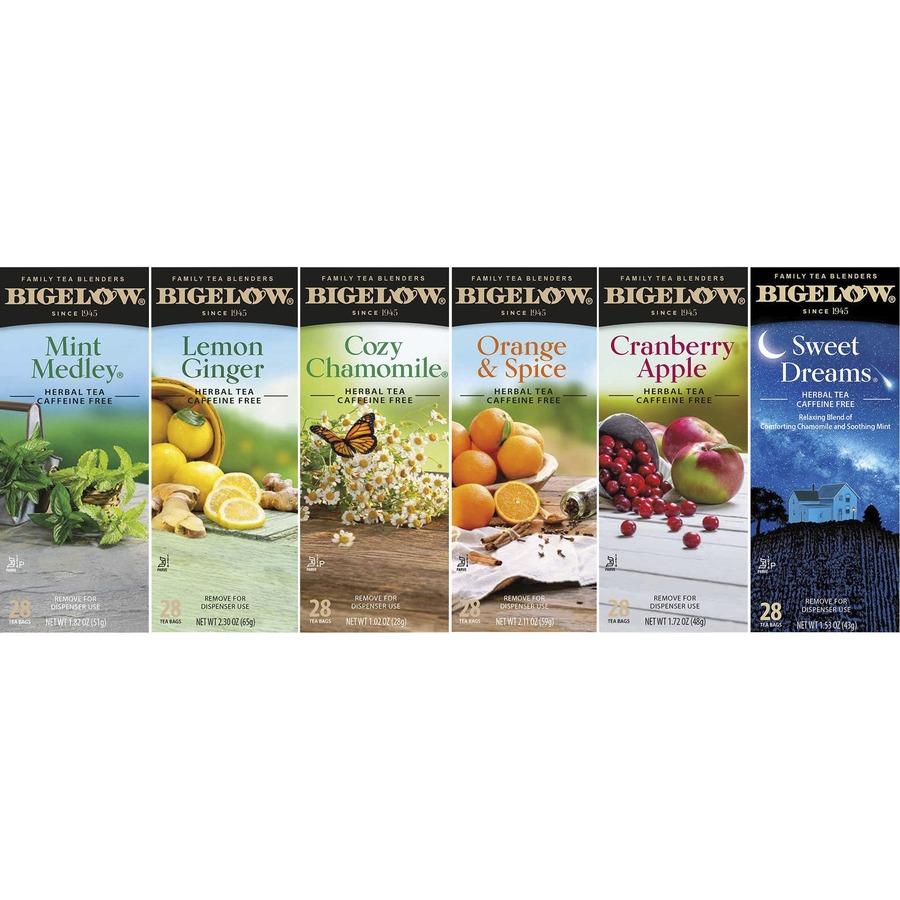 Bigelow Herbal Assortment Tea - Herbal, Citrus, Apple