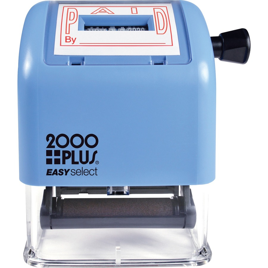 Consolidated Stamp 2000 Plus Self-inking Date Stamp COS011093