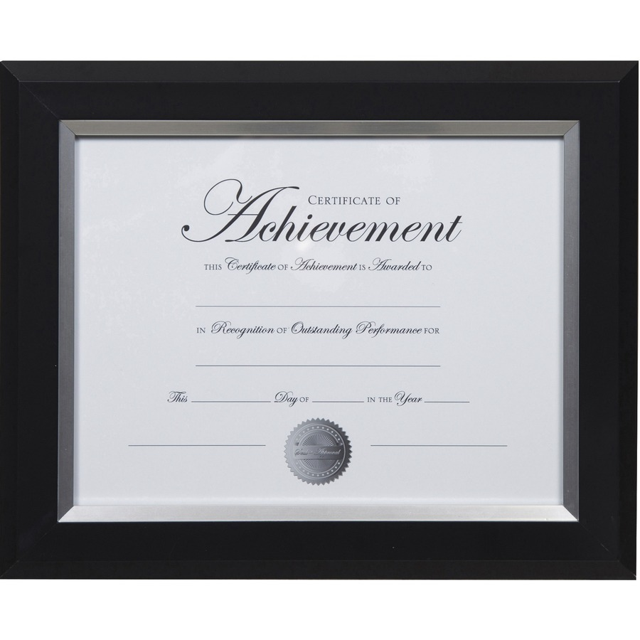 Dax 2-tone Silver Document Frame - Direct Office Buys